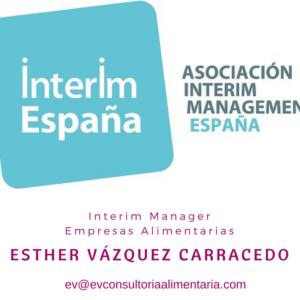 Interim Manage- Esther Vázquez