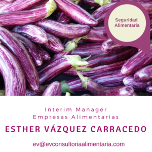 Seguridad Alimentaria- Esther Vázquez